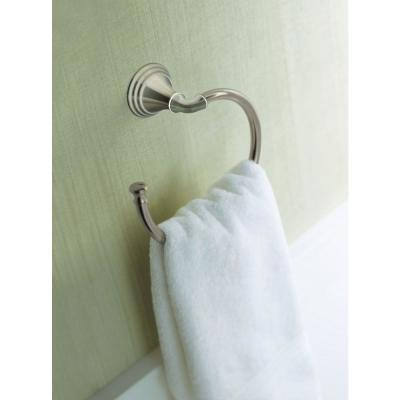 Devonshire Towel Ring in Vibrant Brushed Nickel