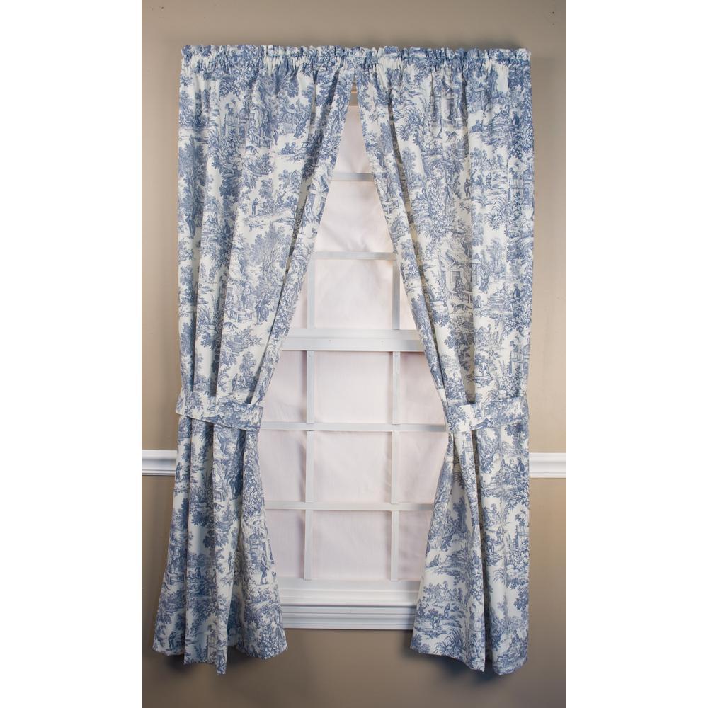 Ellis Curtain Victoria Park Toile 68 In W X 84 L Cotton Tailored