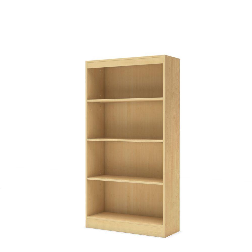 South Shore Axess Natural Maple Open Bookcase