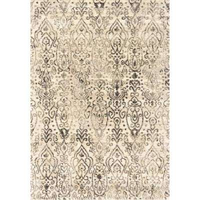 Serenity Vision Cream 2 ft. 7 in. x 4 ft. 2 in. Accent Rug