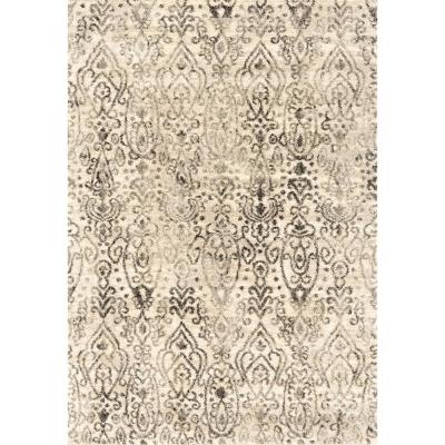 Serenity Vision Cream 5 ft. 3 in. x 7 ft. 2 in. Area Rug