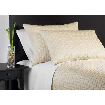 100% Rayon from Bamboo Hemp King Coverlet Set