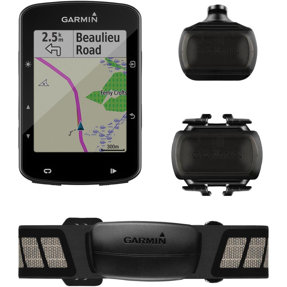 Edge 520 Plus Cycling Computer with Sensor Bundle
