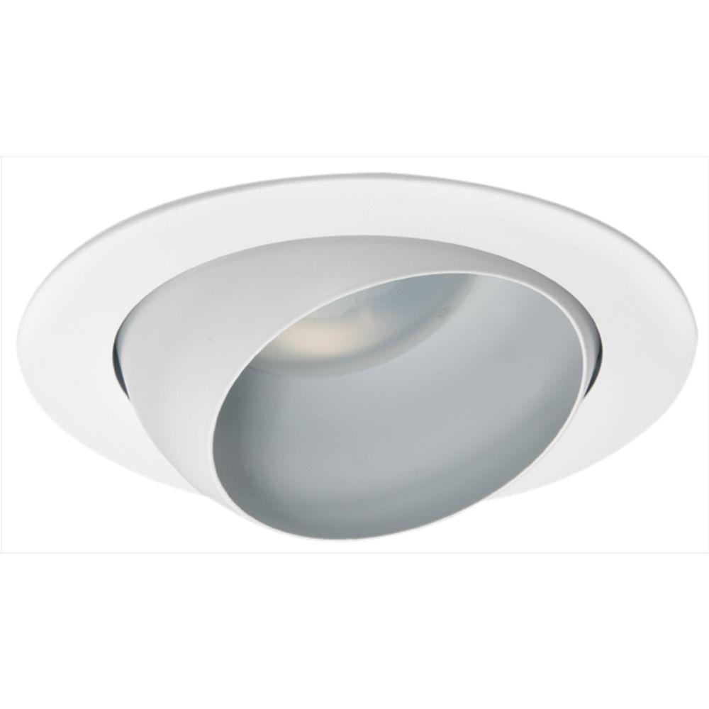 Eyeball recessed lighting trims recessed lighting the home depot white recessed eyeball trim aloadofball Gallery
