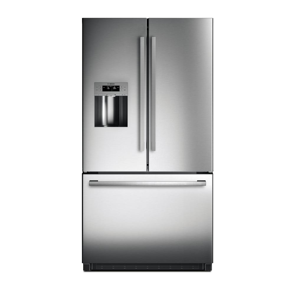 800 Series 36 in. 25 cu. ft. French Door Refrigerator in
