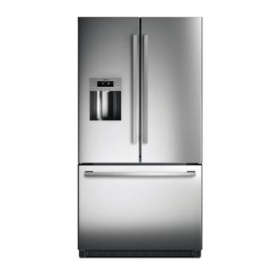 Samsung 24 6 cu  ft  French Door Refrigerator in Stainless