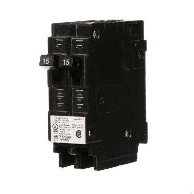 15 Amp Tandem Single-Pole Type MH-T NCL Circuit Breaker