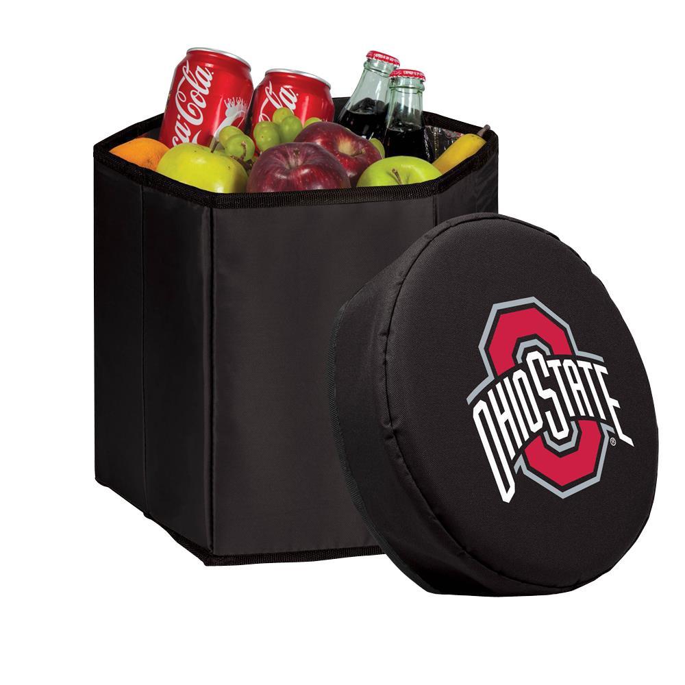 12 Qt. Ohio State Buckeyes Black Bongo Cooler