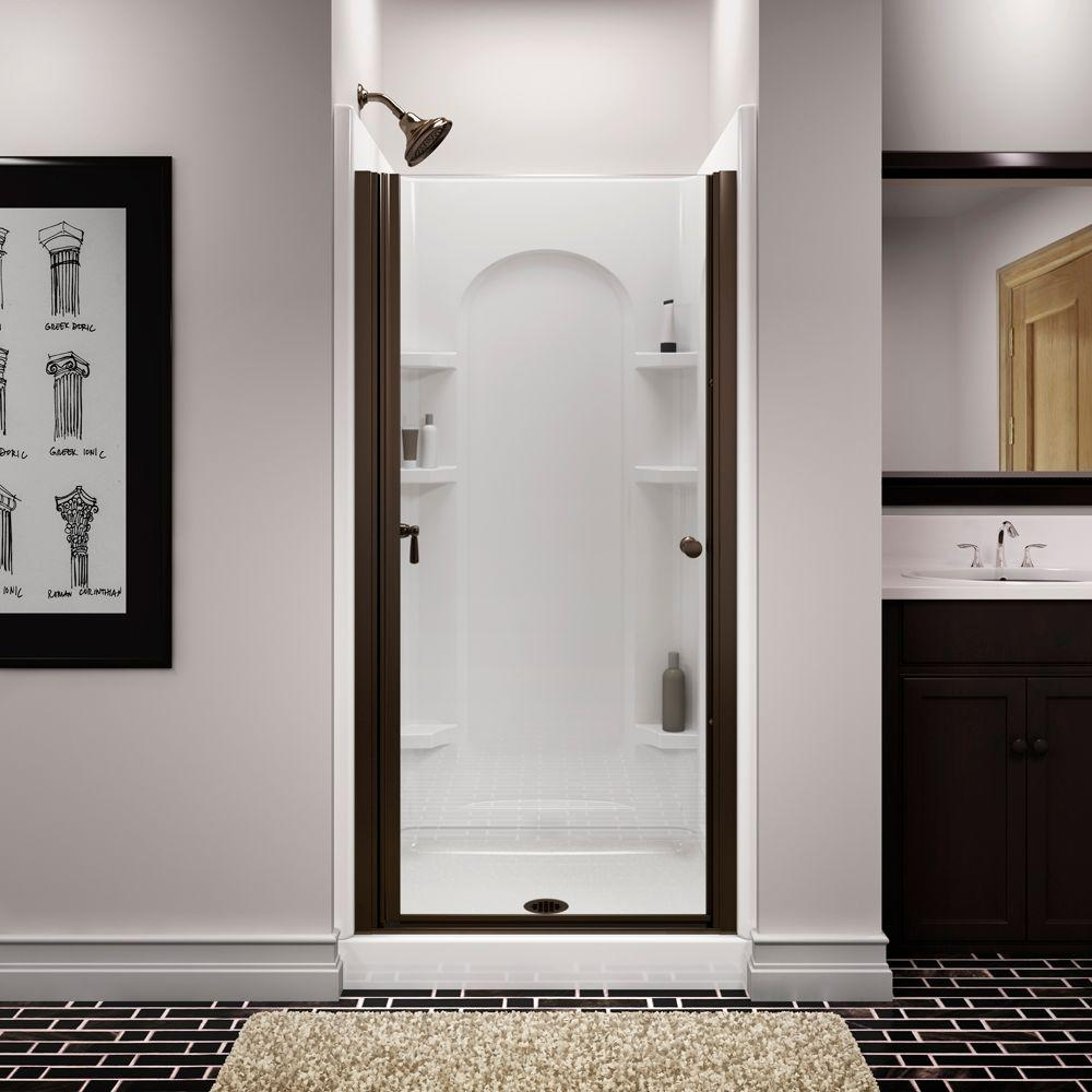 STERLING Finesse 34 in. x 65-1/2 in. Semi-Frameless & STERLING Finesse 34 in. x 65-1/2 in. Semi-Frameless Pivot Shower ... pezcame.com
