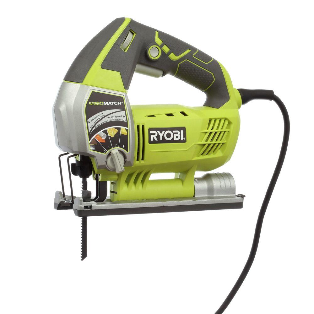 Ryobi 61 amp variable speed orbital jigsaw with speed match js651l1 ryobi 61 amp variable speed orbital jigsaw with speed match js651l1 the home depot keyboard keysfo Choice Image
