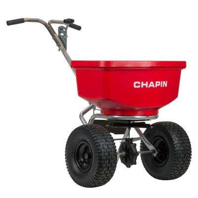 100 lbs. Professional Spreader with Stainless Steel Frame