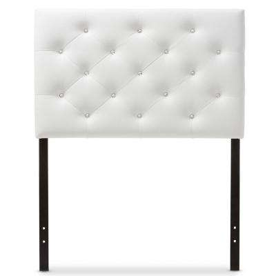 Viviana White Queen Headboard