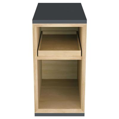 Studio S 10 in. Vanity Middle in Dark Grey
