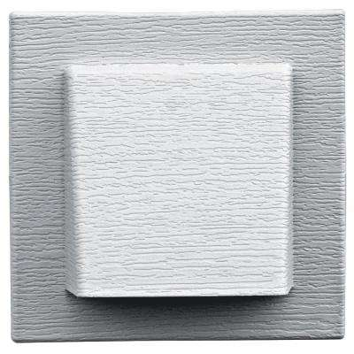 8 in. x 7.875 in. Water Management 4 in. Hooded Vent in White