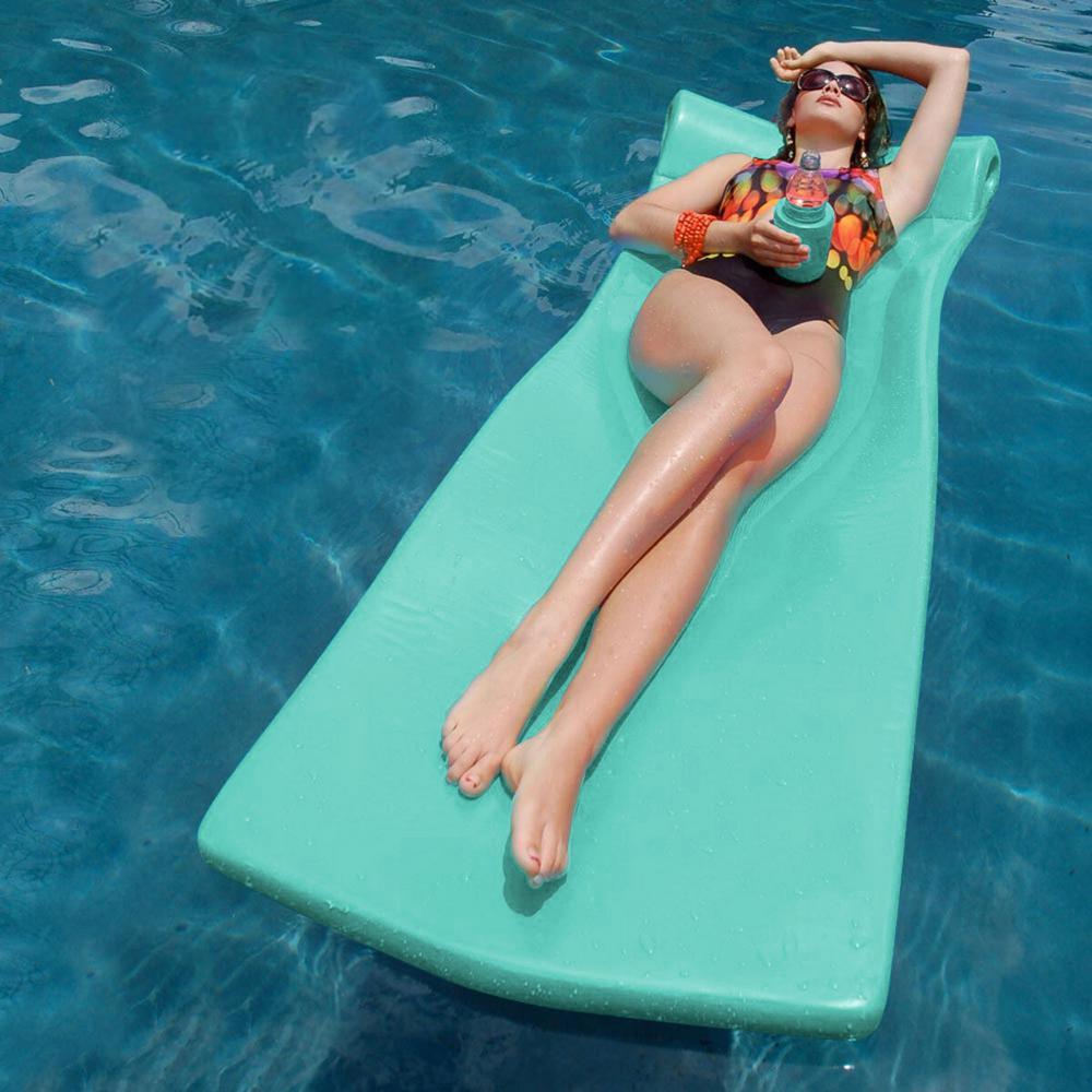 Mint Kool Float with Kool Kan Pool Float
