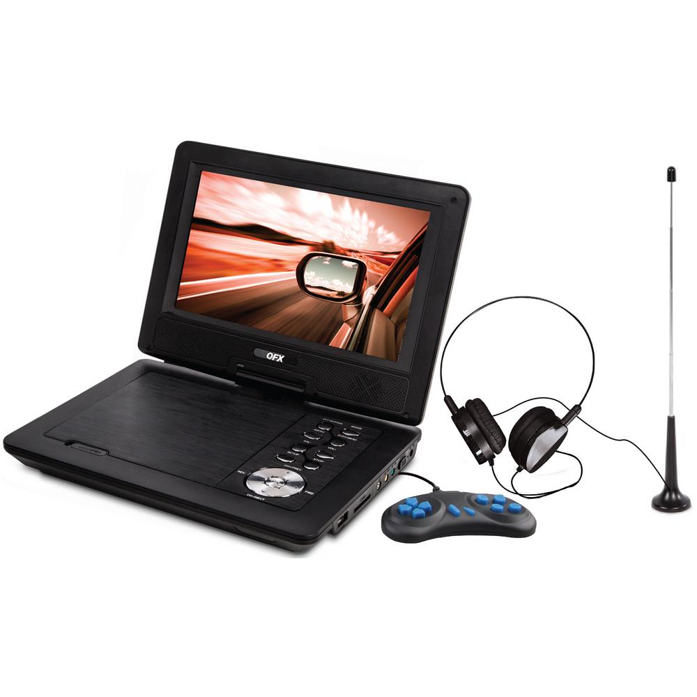 7 in. LCD Multi-Media DVD Player with USB and SD Card
