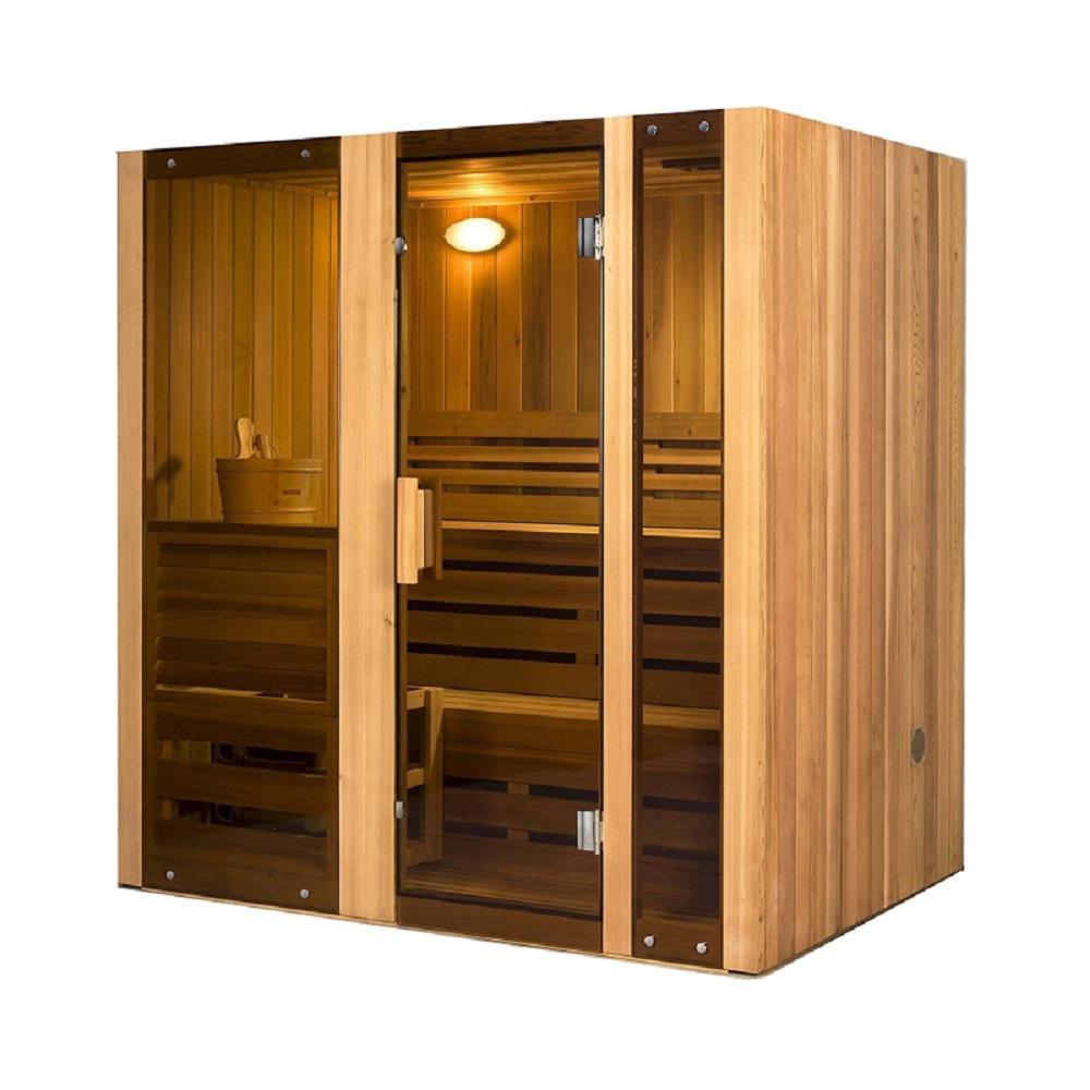4-Person Hemlock Electric Heater Sauna