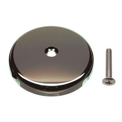 Single Hole Overflow Plate in Oil Rubbed Bronze