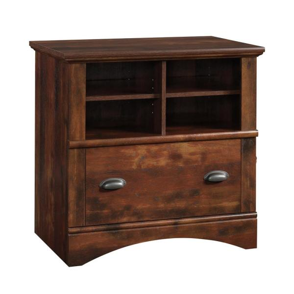 Tremendous Sauder Harbor View Curado Cherry Lateral File Cabinet With 1 Complete Home Design Collection Papxelindsey Bellcom