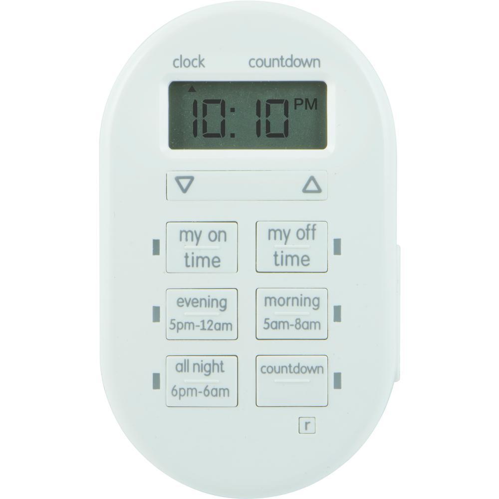 Simple Set Indoor Plug-In Digital Timer