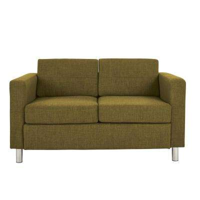 Pacific Green Fabric LoveSeat