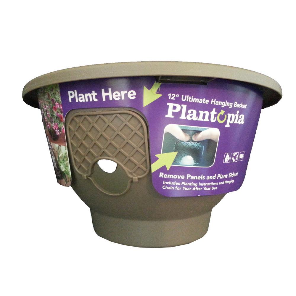 Plantopia Coffee Plastic Planter