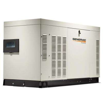 25,000-Watt 120-Volt/240-Volt Liquid Cooled Standby Generator 3-Phase with Aluminum Enclosure
