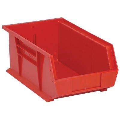 7.5 Gal. Ultra-Series Stack and Hang Storage Bin, Red (12-Pack)