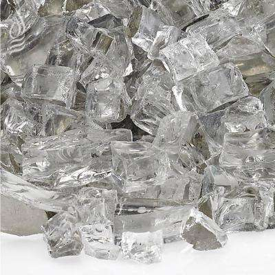 1/2 in. Starfire Reflective Fire Glass 10 lbs. Bag