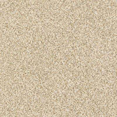 Carpet Sample - Madeline II - Color Danish Texture 8 in. x 8 in.