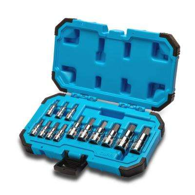 Advanced Series Metric Hex Bit Socket Set (13-Piece)