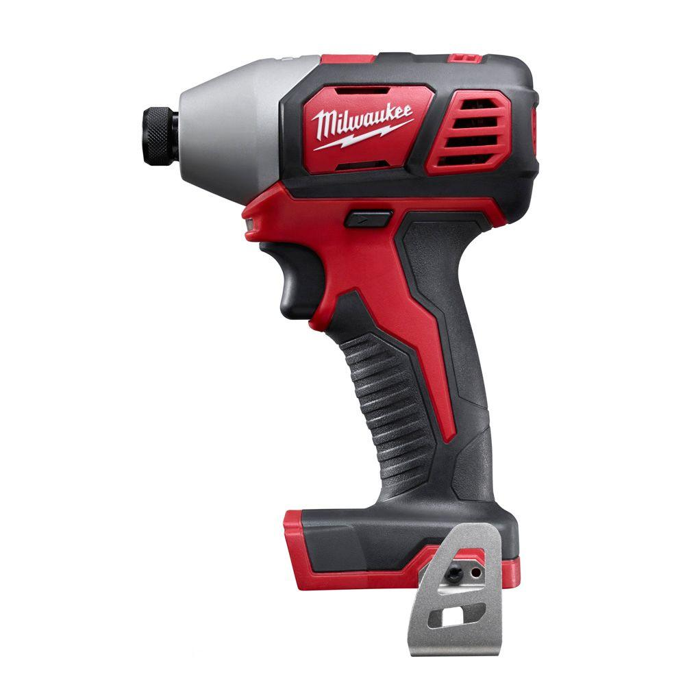 Milwaukee M18 Lithium-Ion 1/4 in. Cordless Hex Impact Driver (Tool-Only)