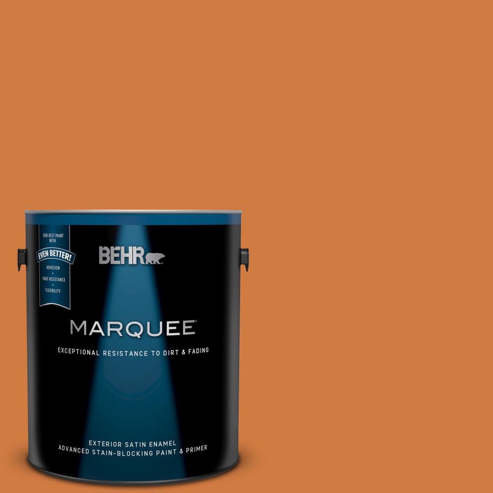 250d 6 Maple Leaf Satin Enamel Exterior Paint And