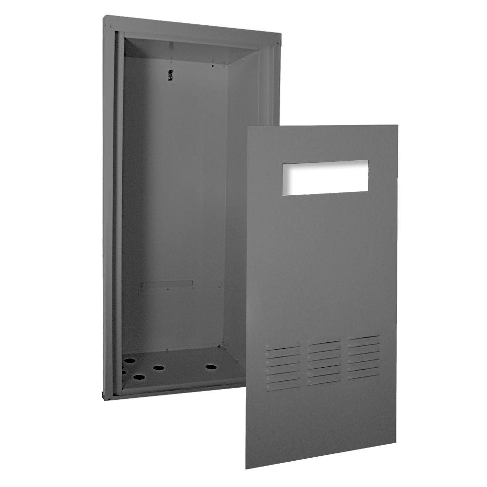 rheem recess box for tankless gas water heater-rtg20218 - the home depot
