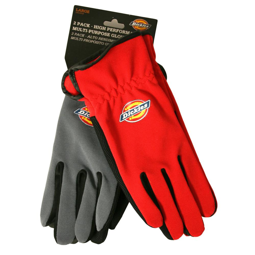 High Performance Multi-Purpose Work Gloves (2-Pack)
