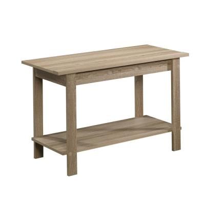 Beginnings 35 in. Summer Oak Wood TV Stand Fits TVs Up to 37 in. with Open Storage