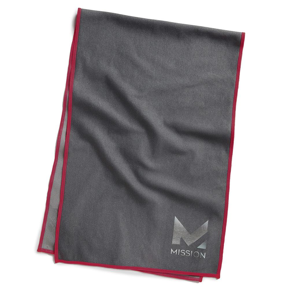 Hydro Active Max 11 in. x 33 in. Charcoal Tango Red