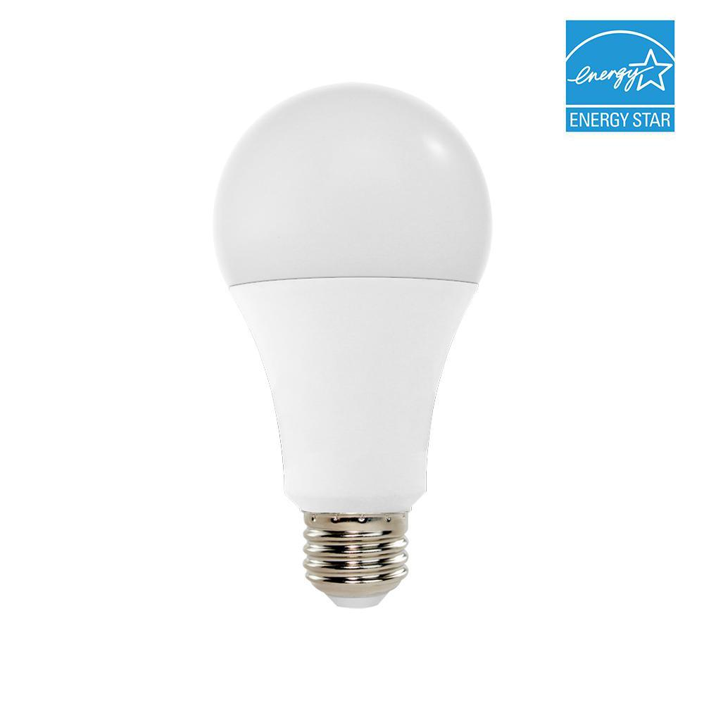 100W Equivalent 3000K A21 Dimmable LED Light Bulb, Soft White