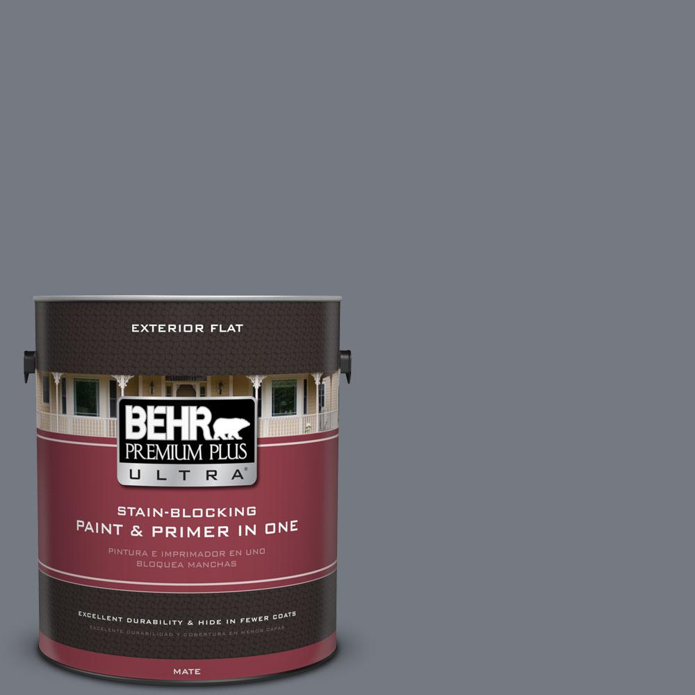 Behr Premium Plus Ultra 1 Gal N510 5 Liquid Mercury Color Flat Exterior