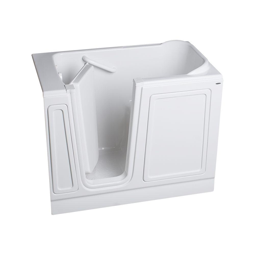 American Standard Acrylic Standard Series 48 in. x 28 in. Walk-In Soaking Tub in White