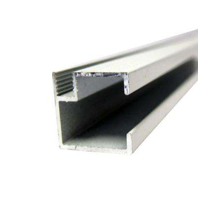 3/4 in. x 3/4 in. x 8 ft. White Mini Track Channel
