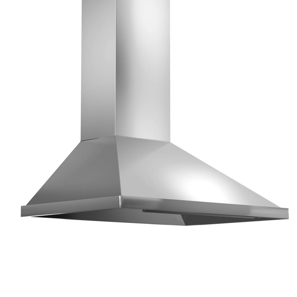 Zline Kitchen And Bath Zline 36 In. 900 Cfm Wall Mount Range Hood In Stainless Steel (silver)