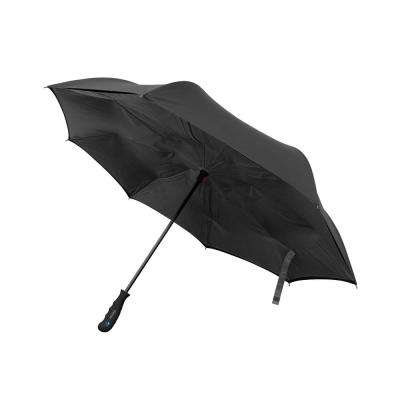 41.5 in. Wide Wind Proof with Reverse Open/Close Technology Double-Ribbed Umbrella