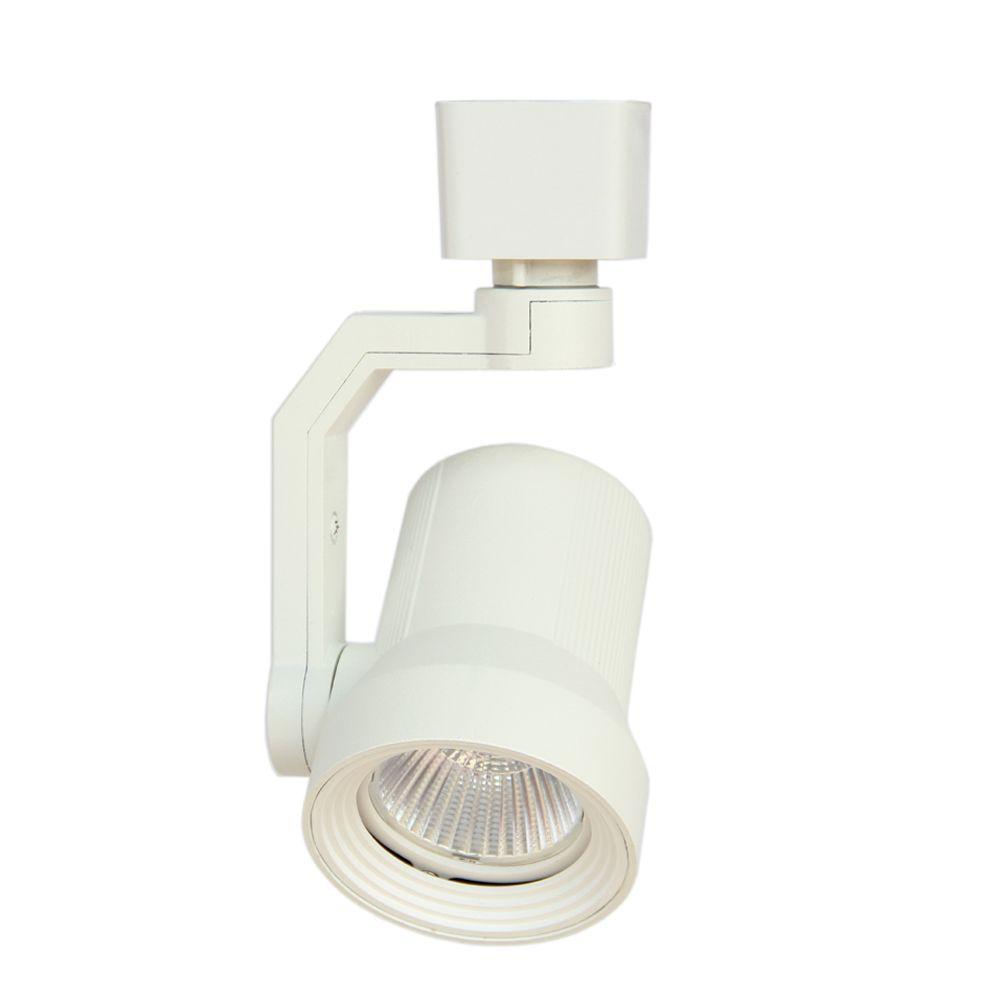White LED Track Lighting Head