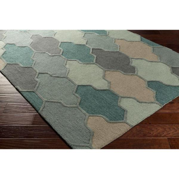 Reviews For Artistic Weavers Pollack Morgan Teal 8 Ft X 11 Ft Indoor Area Rug Awah2036 811 The Home Depot