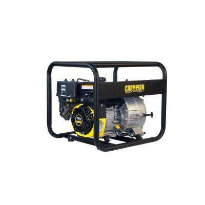 3 in. Gas Powered Semi-Trash Water Transfer Pump