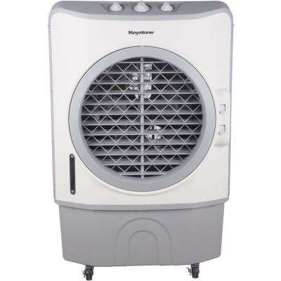 706 CFM 3-Speed Portable Evaporative Air Cooler in Dark Gray for up to  1200 Sq. Ft. Cooling Area