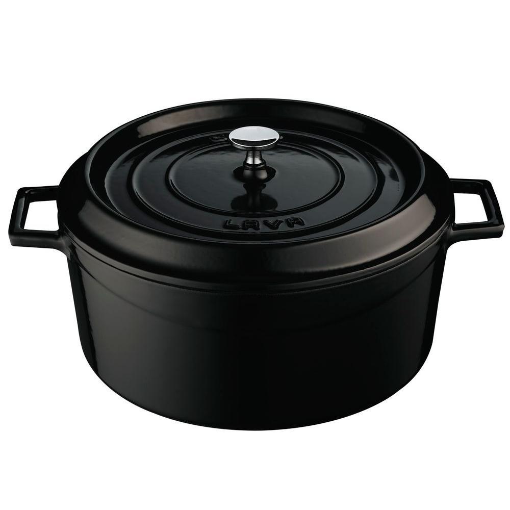 Signature 10.5 Qt. Cast Iron Round Dutch Oven