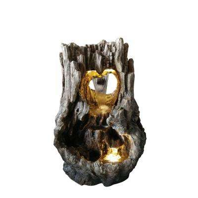 Rainforest Waterfall Fountain with LED Lights