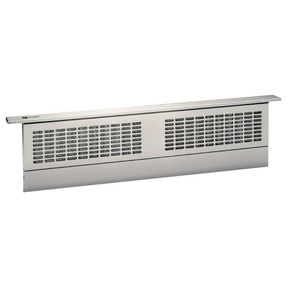 GE Profile 30 in. Telescopic Downdraft System in Stainless Steel